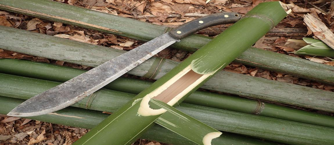 Cooking In Bamboo